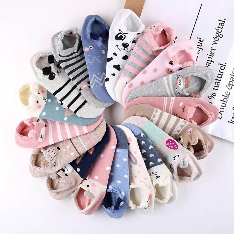 LNRRABC 1Pair Comfortable Animal Ear Sockss