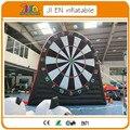 Livre air envio para porta, 13ft/4 m inflável jogo de dardos/dardos de futebol inflável gigante, futebol inflável pé dardos