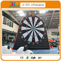 free air shipping to door,13ft/4m  inflatable dart game/giant inflatable soccer darts board,inflatable football foot darts