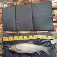 95CM X 46CM Small Cloth Unhooking Mat For Carp Fishing Foldable For Fish Protection