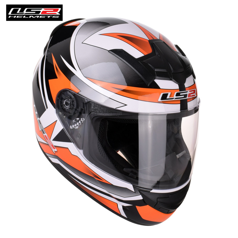 LS2 Motorcycle Helmet Racing Full Face Casque Capacete Casco Moto Helm Kask Helmets Crash For Benelli Motociclista LS2 ROOKIE ls2 global store ls2 ff353 full face motorcycle helmet abs safe structure casque moto capacete ls2 rapid street racing helmets