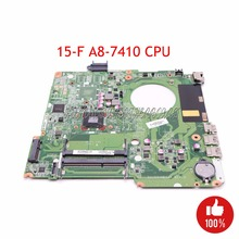 NOKOTION Laptop motherboard For HP Pavilion 15-F A8-7410 CPU DAU99VMB6A0 846803-601 846803-001 Main board works