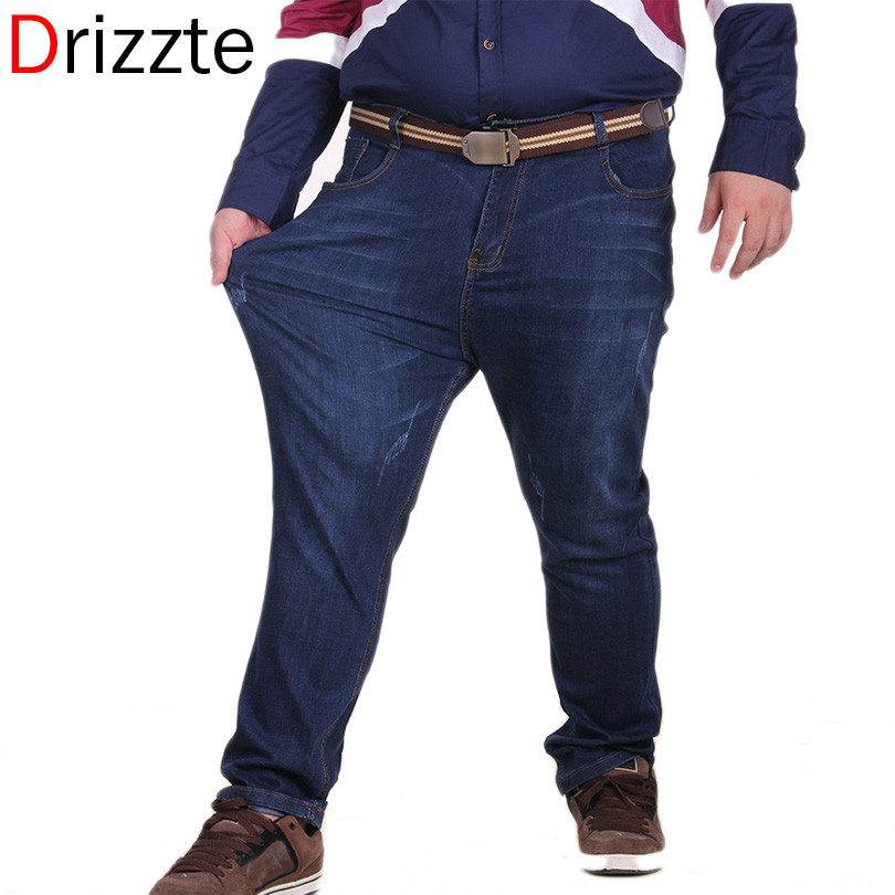 Aliexpress.com : Buy Drizzte Jeans Men Plus Big and Tall Size ...