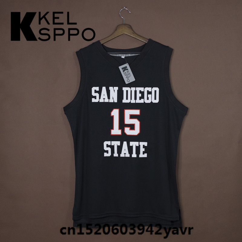 17b8714e3 San Diego State Aztecs Leonard College Basketball Jerseys - Year of ...