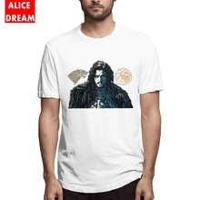 For Men Game Of Thrones Jon Snow T shirt D095 Shirt Picture Custom Homme Tee 100% Cotton Big Size