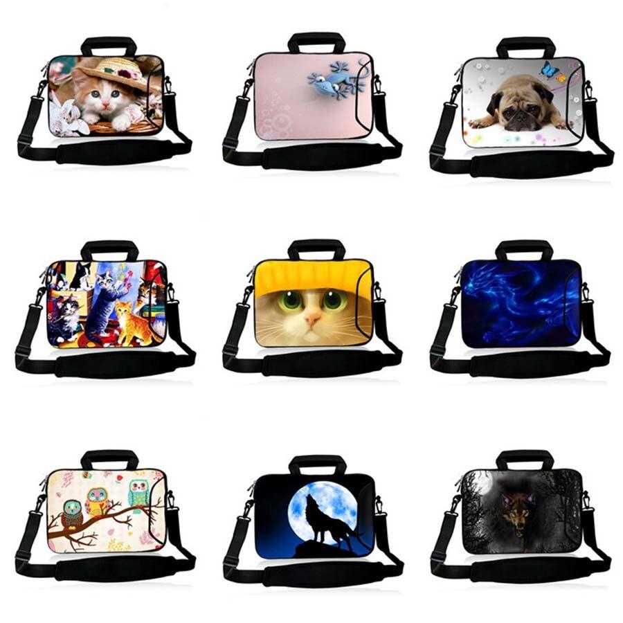 10.1 11.6 13.3 14.1 15.6 15.4 17.3 Laptop Shoulder Bag Notebook Protective Case 10 12 13 14 15 17 Computer Sleeve Cover SB-hot3