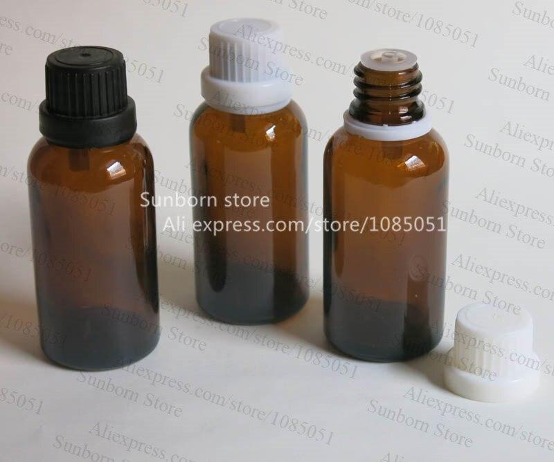 10x 30 Cc Amber Essential Oil Bottle 30ml Brown Glass