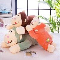 New Style Lovely Orangutan Monkey Plush Toy Stuffed Animal Doll Toys Plush Pillow Gift For Children & Friends