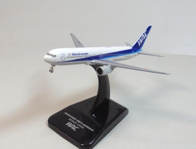 ФОТО Herpa 1:500 World Air Network WAC 767-300ER ja8286 model