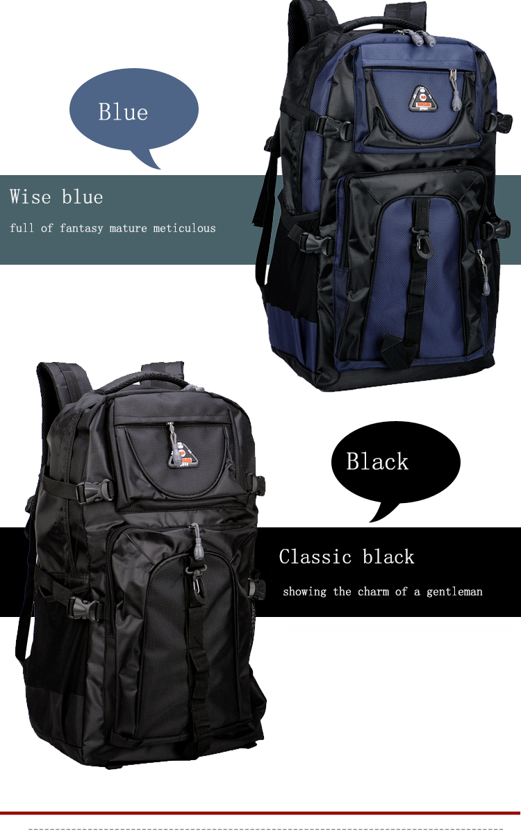 17 Senkey style 60L Large-capacity Travel Backpack Men Women Fashion Backpack To Casual Waterproof Laptop Student school Bag 4