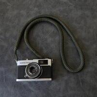 Hand woven Nylon seil Kamera Schulter Neck Strap Gürtel für Spiegellose Digital Kamera Leica Canon Fuji Nikon Olympus Pentax sony-in Kameragurt aus Verbraucherelektronik bei