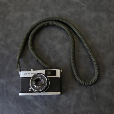 hand-woven Nylon rope Camera Shoulder Neck Strap Belt for Mirrorless Digital Camera Leica Canon Fuji Nikon Olympus Pentax Sony