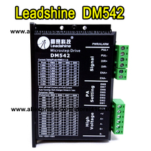 Leadshine DM542 2 Phase DSP Digital Stepper Drive with Max 48 VDC Input Voltage and Max 4.2 A Output Current GENUINE! high quality leadshine 2 phase digital stepper drive 3dm583 work 24v 50 vdc out 2 1a to 8 3a