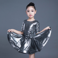 Latin Dance Dress Girls Children Latin Dresses Competition Dance Clothes Samba Tango Salsa Kids Dancing Stage Show Wear DNV10592