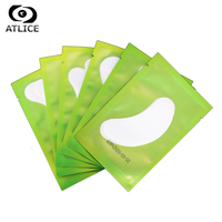 ATLICE 500 pairs/lot Patches for Eyelash Extension Pads Silver Under Eyelashes