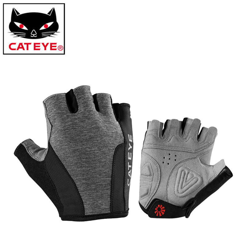 CATEYE Half Finger Hiking Gloves Shockproof Cycling Bicycle Gloves Anti-silp MTB Road Bike Bicycle Gloves Men Women Sportswear batfox women cycling gloves female fitness sport gloves half finger mtb bike glove road bike bicycle gloves bicycle accessories