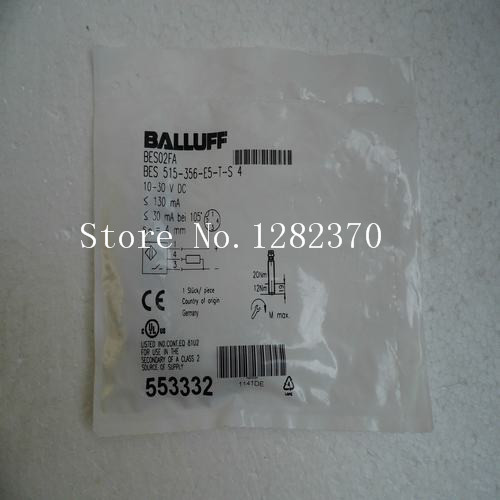 [SA] New original special sales BALLUFF sensor BES 515-356-E5-T-S4 spot 4pcs new for ball uff bes m18mg noc80b s04g