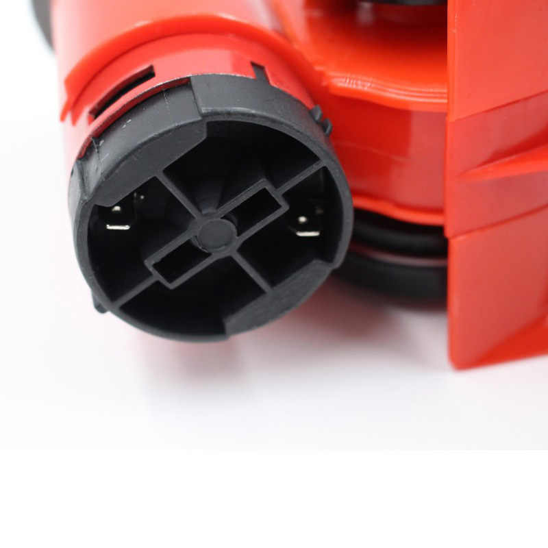 cami/ón bocina de coche peque/ña compacta de 130DB motocicleta barco bocina de aire de caracol el/éctrica ruidosa para coche Bocina de aire de caracol de 12 V