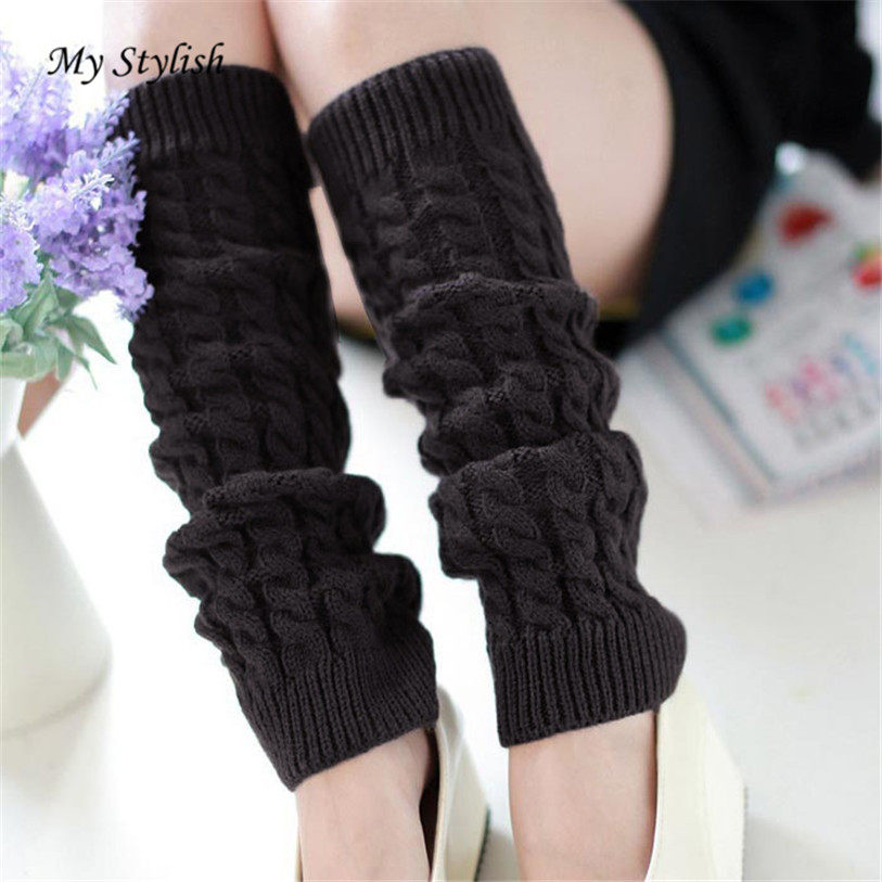 Tienda Online Nuevo crochet legwarmers sólido muslo alta ...