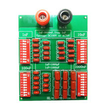 1nF to 9999nF Step 1nF Four Decade Programmable Capacitor Board Polypropylene Film Capacitor