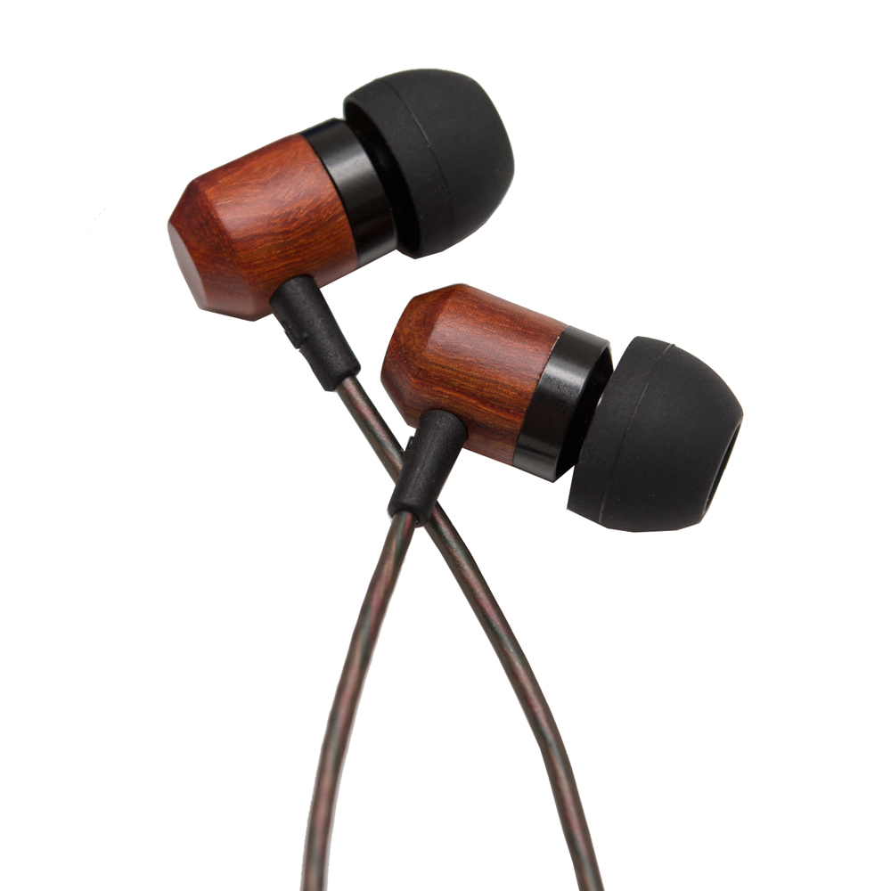Authentic Shozy Zero HiFi Wooden Stereo Dynamic Deep Bass Music In Ear Earphones Earbuds