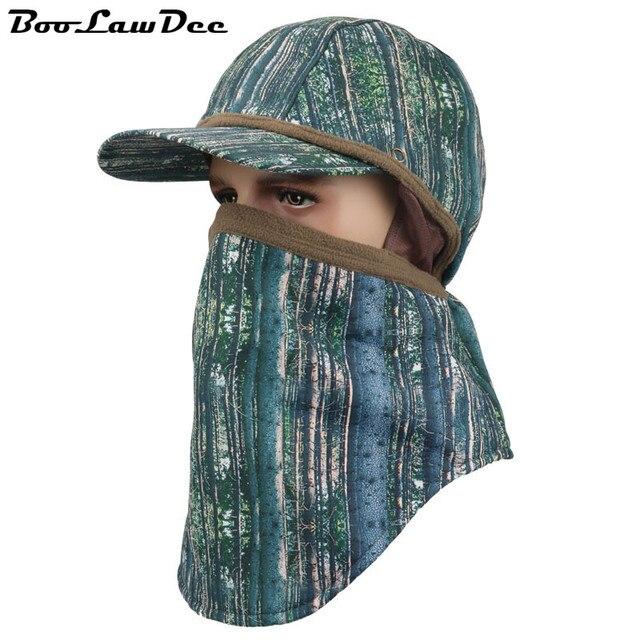 BooLawDee 360 градусов зимой теплый водонепроницаемый защитный колпачок камуфляж шапочки шляпа летом человек отдыха джунгли одежда freesize 4F011
