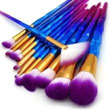 13Pcs Unicorn Diamond Makeup Brush