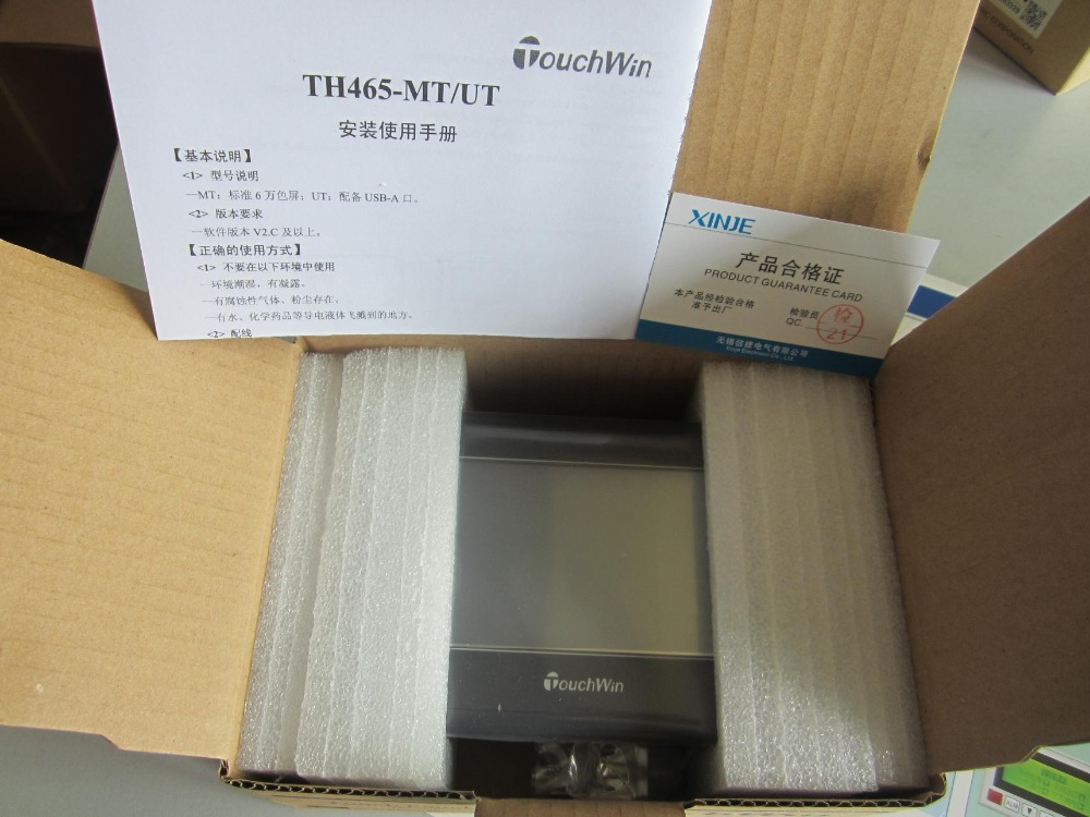 все цены на TH465-MT XINJE Touchwin HMI Touch Screen 4.3 inch 480*272 new in box онлайн