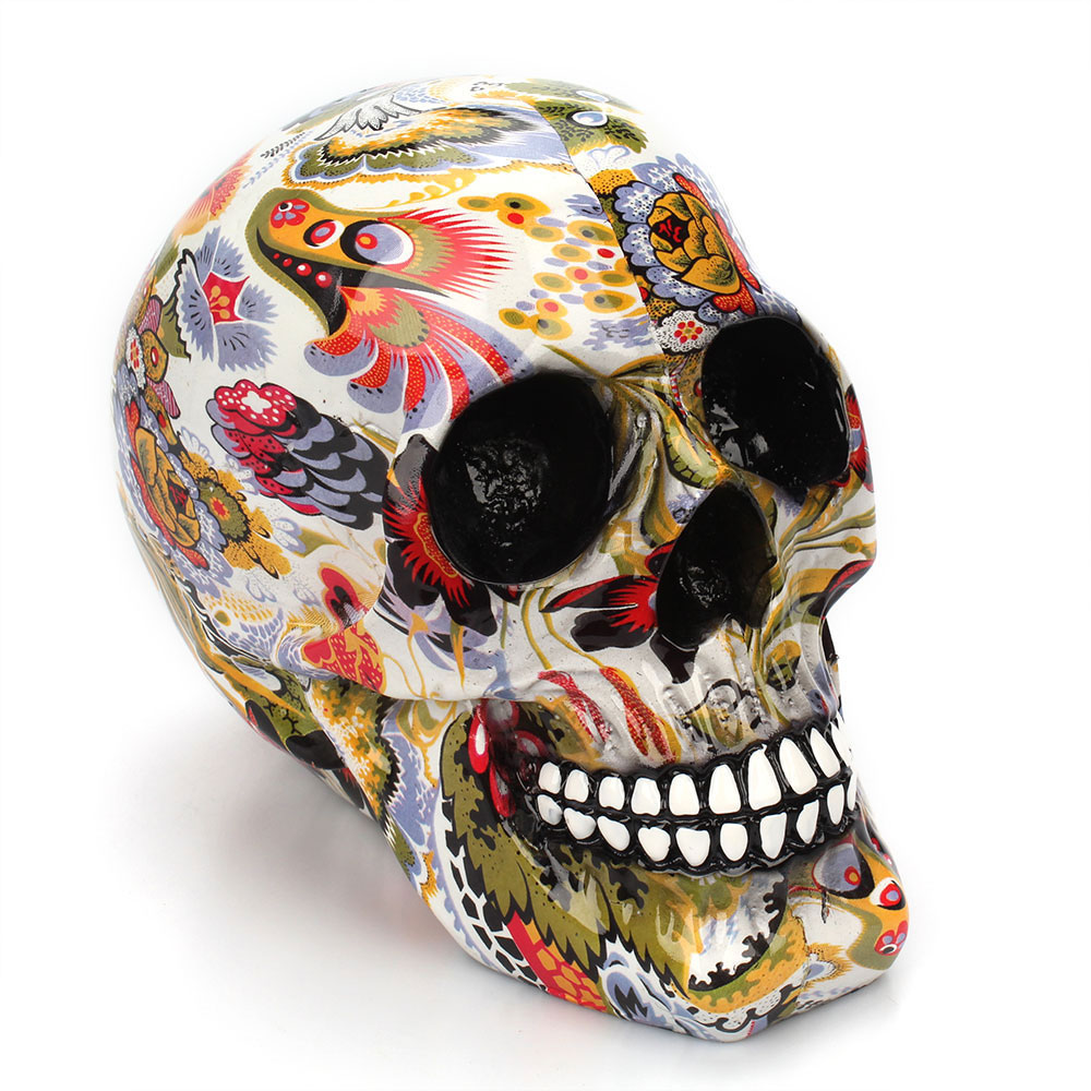Calavera de resina de esqueleto humano 5