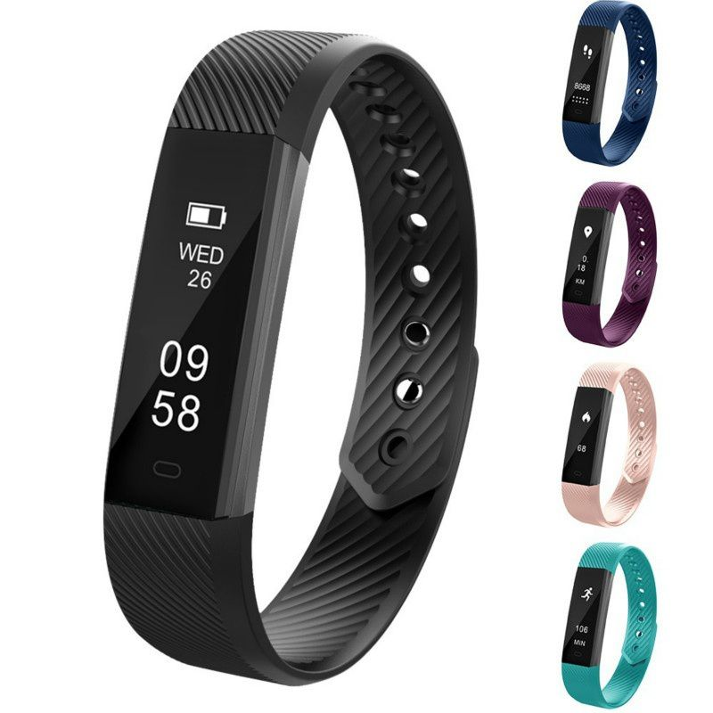 Sports Smart Wristband Waterproof Measurement Time Step Heart Rate Smart Bracelet Women Watch for IOS Android Xiaomi redSports Smart Wristband Waterproof Measurement Time Step Heart Rate Smart Bracelet Women Watch for IOS Android Xiaomi red