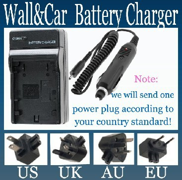 Battery Charger for Canon BP-511A,BP-514,BP-522,BP-535 and Canon Optura 10, 20, 100MC, 200MC and Optura Pi, Xi MiniDV Camcorder