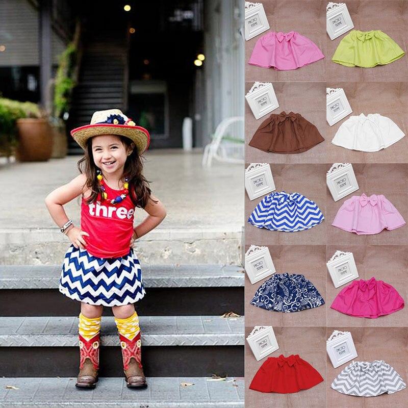 2016New font b Baby b font Kid Mini Bubble Tutu Skirt Girl Cute Pleated Fluffy Skirt