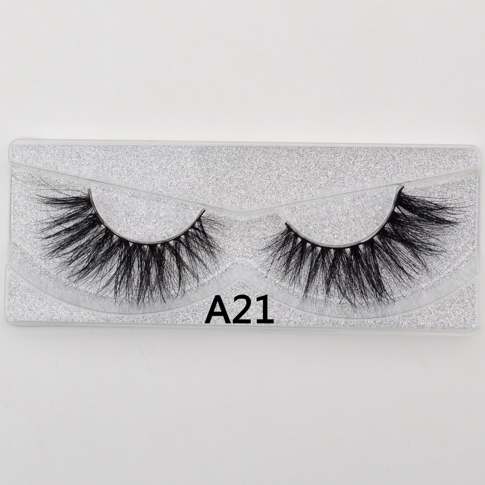 Visofree Eye Lashes Soft Lashes Long Cilios Maquiagem False Eyelashes Upper  Real Mink Makeup Thick Sexy 3D Mink Lashes A21