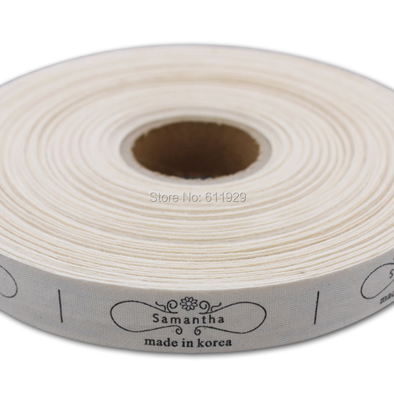 Free Shipping Garment Tags/clothing Cotton Label Printing/care Label/main Label/garment Woven Label/collar Tag 1000 Pcs A Lot