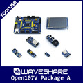 Waveshare Open107V Pack A STM32F107VCT6 TM32F107 ARM Cortex-M3 STM32 Development Board + 6 Modules