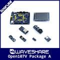 Waveshare Open107V Pack A STM32F107VCT6 TM32F107 ARM Cortex-M3 STM32 Development Board + 6 Modules