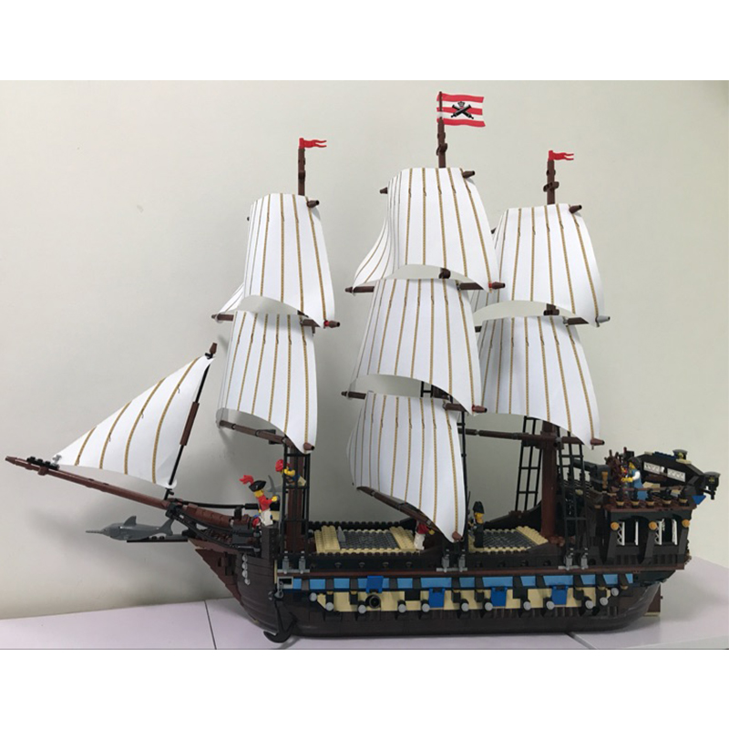 Lepin 22001 Imperial Flagship building bricks blocks Toys for children boys Game Model Car Gift Compatible with Bela Decool10210 lepin 22001 pirates series the imperial flagship model building blocks set pirate ship lepins toys for children clone 10210