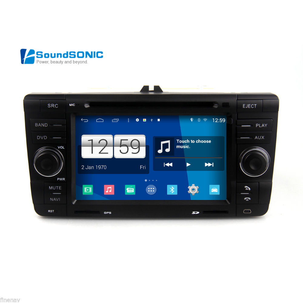 Android 4 4 4 for skoda yeti octavia laura car radio stereo dvd navigation sat navi