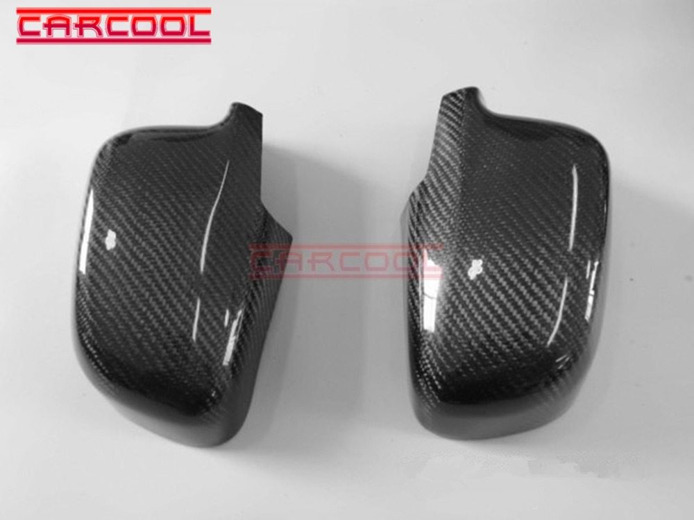 US $95 0 |Car Styling CF Carbon Fiber Bodykit For Lancer Evolution 4 6 EVO  4 5 6 SIDE MIRROR COVER-in Body Kits from Automobiles & Motorcycles on