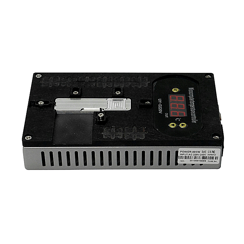 LY 988A mobile carte mère chauffe avant pour téléphone lcd de réparation machine
