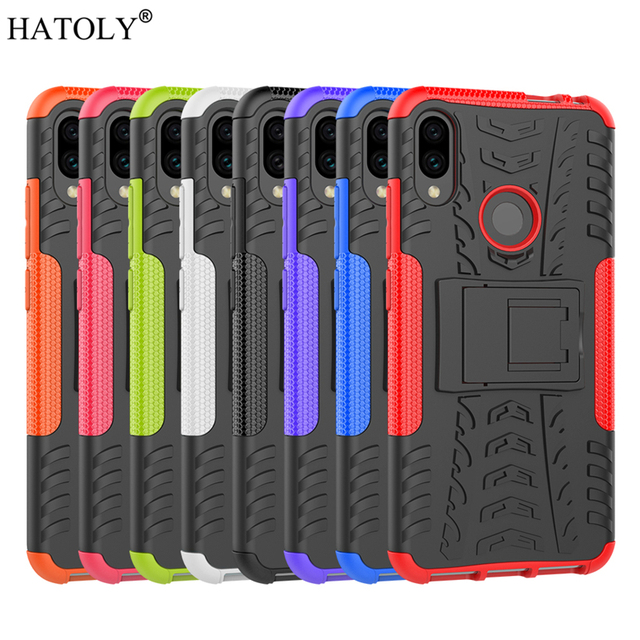 For Xiaomi Redmi Note 7 Case Shockproof Armor Hard Rubber Phone Case for Xiaomi Redmi 7A Cover for Xiaomi Redmi Note 5 8T 8 Pro