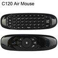 2.4 GHz Rato Ar T10 Recarregável teclado Sem Fio Fly air Mouse para android tv box z4 x96 vr samsung/lg/toshiba inteligente TV