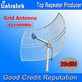 NEW 20dBi Grid Antenna 824-960MHz External Antenna Big Coverage for Mobile Phones Signal Repeater Booster Amplifier Outdoor Use