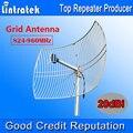 NOVA Grade de 20dBi Antena 824-960 MHz Antena Externa Grande Cobertura para Celulares Repetidor De Sinal Amplificador Impulsionador Ao Ar Livre uso