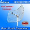 NUEVA 20dBi Antena de Rejilla 824-960 MHz Antena Externa Gran Cobertura para Teléfonos Móvil Repetidor de Señal Booster Amplificador Al Aire Libre uso