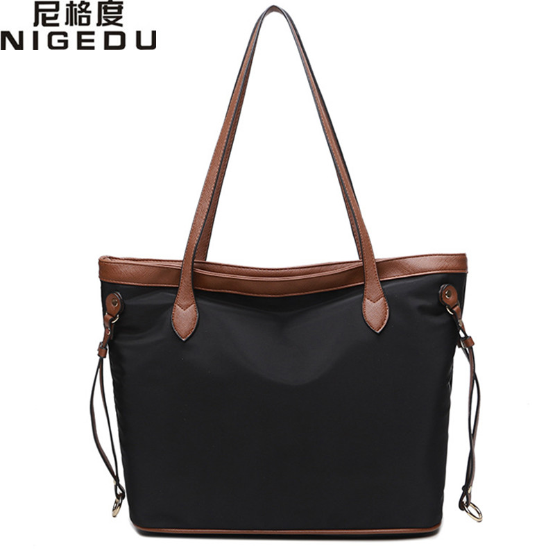 Fashion Women big Tote Bag Casual nylon Shopping Bag Large Capacity Designer Handbags Ladiies tassel Shoulder Bags bolsa