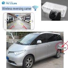 YESSUN для Toyota Previa Canarado Estima Tarag 4 светодиода автомобиль HD CCD ночное видение обратный резервный Парковка Wi-Fi камера