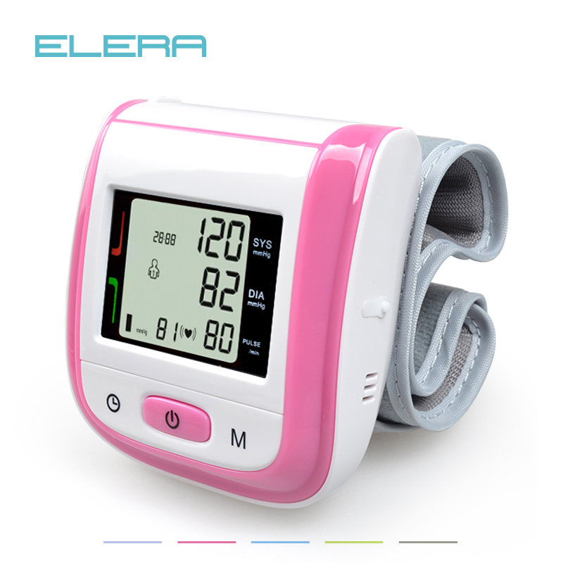 Health Care Automatic Wrist Blood Pressure Monitor Digital LCD Wrist Cuff Blood Pressure Meter Esfingomanometro Tonometer blood pressure monitor automatic digital manometer tonometer on the wrist cuff arm meter gauge measure portable bracelet device