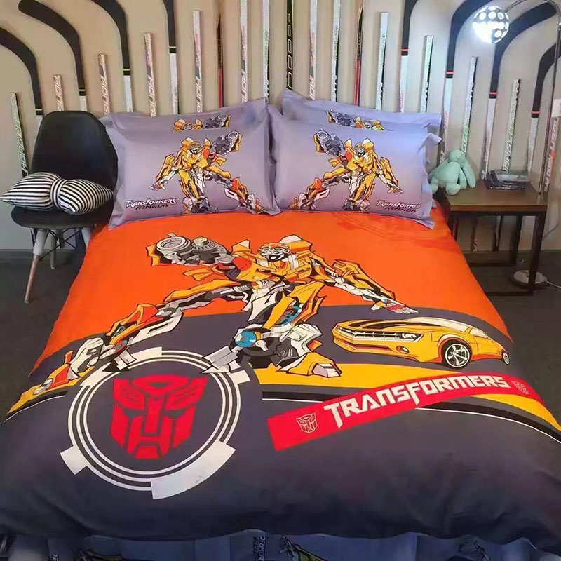 Transformers Queen Bed Sheets