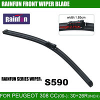 RAINFUN Dedicated Car Wiper Blade For Peuguot 308CC 28 28 INCH Auto Wiper With High Quality